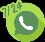 Whatsapp 7/24 Destek